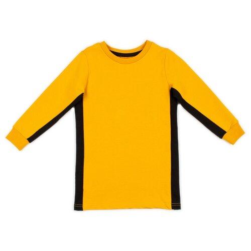 Платье bodo размер 92-98, горчичный