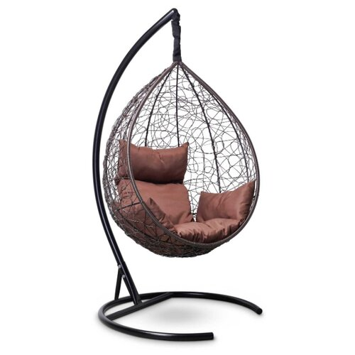 Подвесное кресло-кокон Laura Outdoor Sevilla, коричневый/шоколадный