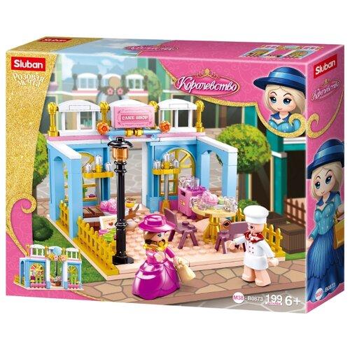 Купить Конструктор SLUBAN Розовая мечта M38-B0873 Королевство, Конструкторы