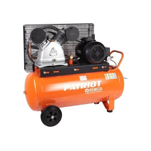 Компрессор масляный PATRIOT REMEZA СБ 4/С- 100 LB 50, 100 л, 4 кВт компрессор ременной patriot remeza сб 4 с 100 lb 30 a