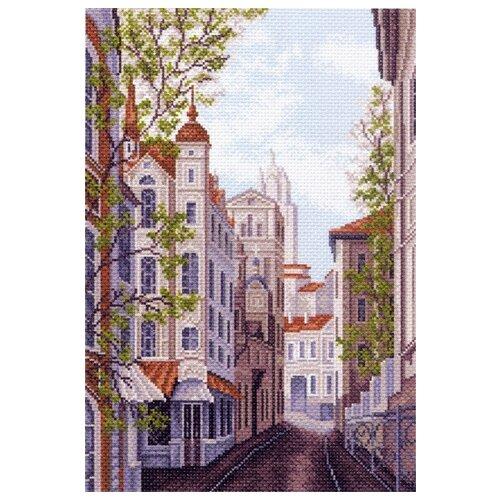 Московские улочки Набор для вышивания крестом 37х49 (27х39) Матренин Посад 1482/Н