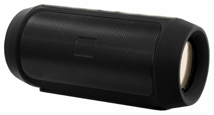 Беспроводная акустика PERFEO GRANDE, FM, MP3 microSD, AUX, мощность 10Вт, 2600mAh, черная