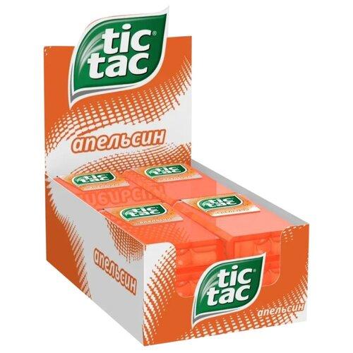 Драже Tic Tac Апельсин, 12 шт. драже tic tac ягодный микс 12 шт