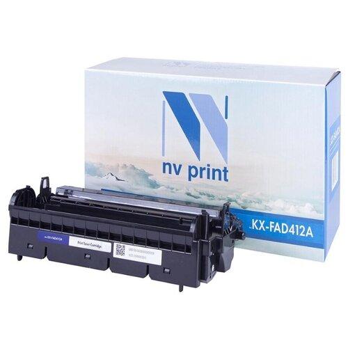 Фото - Барабан совм. NV Print KX-FAD412A черный для Panasonic KX-MB1900/MB2000/MB2020/MB2030 (6000стр), цена за штуку, 191772 блок фотобарабана cactus cs fad412a ч б 6000стр для mb1900 mb1900ru mb2000 mb2000ru panasonic