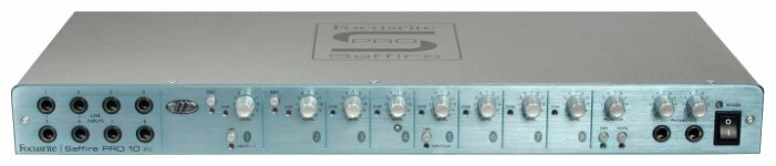 Внешняя звуковая карта Focusrite Saffire PRO 10 i/o