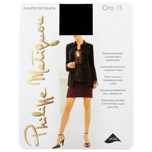 Колготки Philippe Matignon Oro 15 15 den, размер 4-L, nero (черный) колготки philippe matignon nudite crystal 30 den размер 4 l nero черный