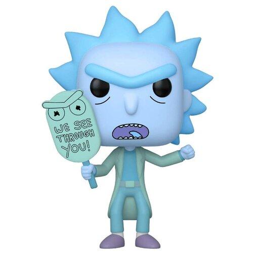 Купить Фигурка Funko POP! Рик и Морти - Голографический клон Рика (светится в темноте) 44253, Игровые наборы и фигурки