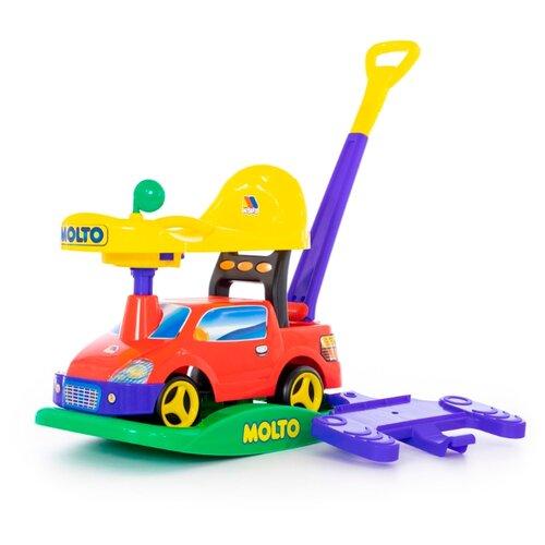 Купить Каталка-качалка Molto Пикап (63083 / 63090 / 63106) со звуковыми эффектами красный, Каталки и качалки