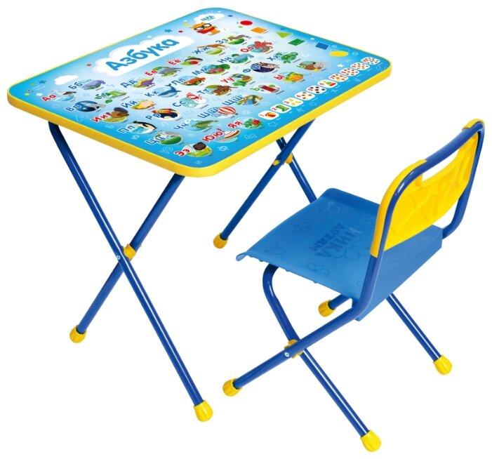 Комплект Nika стол + стул Азбука КП/9