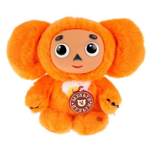 Купить Мягкая игрушка Мульти-Пульти Чебурашка оранжевый 17 см, муз. чип, Мягкие игрушки
