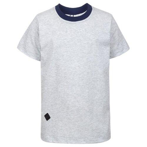 Купить Футболка Nota Bene размер 128, серый, Футболки и топы