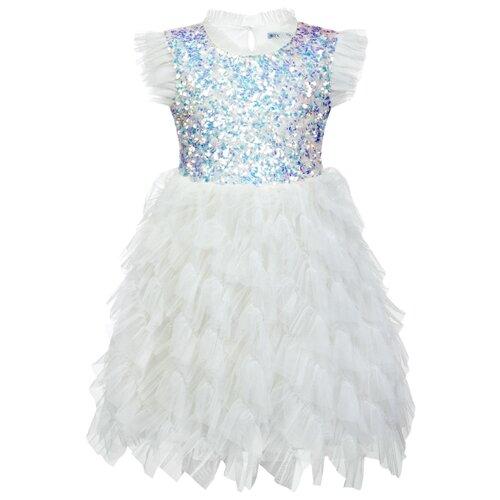Платье Stilnyashka размер 80, молочный