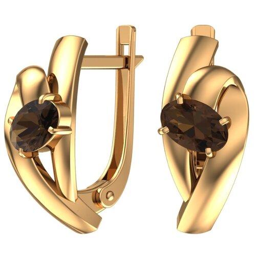 Фото - POKROVSKY Золотые серьги с полудрагоценными камнями 2101238-00620 серьги с полудрагоценными камнями