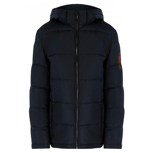 Куртка FiNN FLARE KA19-81003 размер 11-146, темно-синий (101) цена 2017