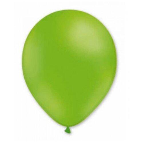 Набор воздушных шаров MILAND Пастель 21 см (100 шт.) фисташковый