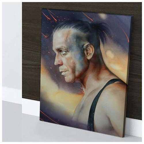 lindemann lindemann ich weiss es nicht 7 Картина Till Lindemann - Rammstein 40х60 см. натуральный холст