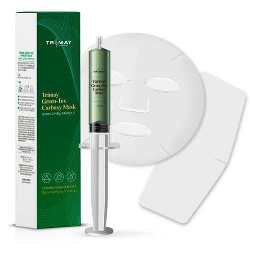 Купить Trimay Омолаживающая детокс-маска для карбокситерапии Carboxy CO2 Clinik Mask, 25мл