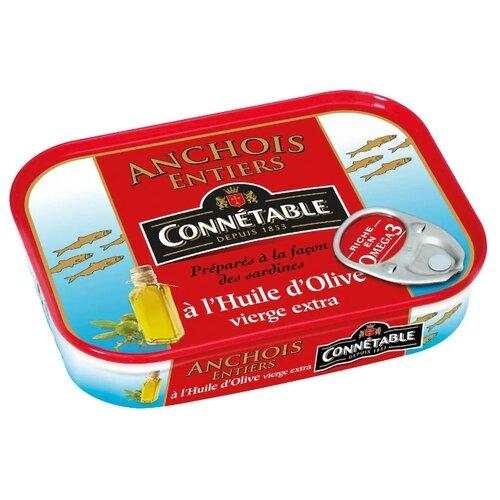 Connetable Анчоусы в оливковом масле первого отжима экстра, 100 г