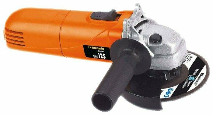 УШМ Einhell BAG 125, 860 Вт, 125 мм