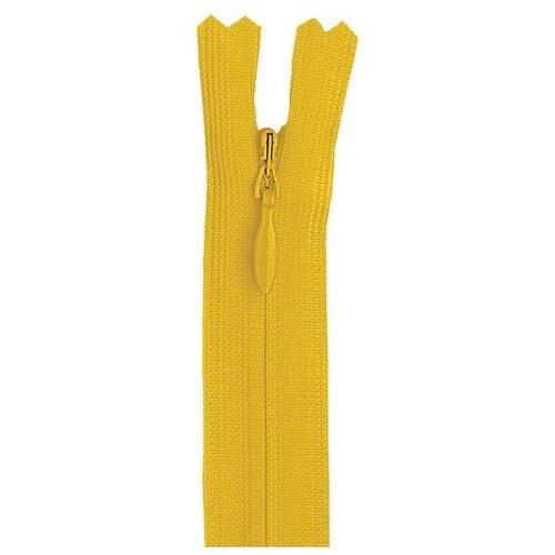 Купить YKK Молния потайная неразъемная 0004715/60, 60 см, 506 кукурузный/кукурузный, Молнии и замки