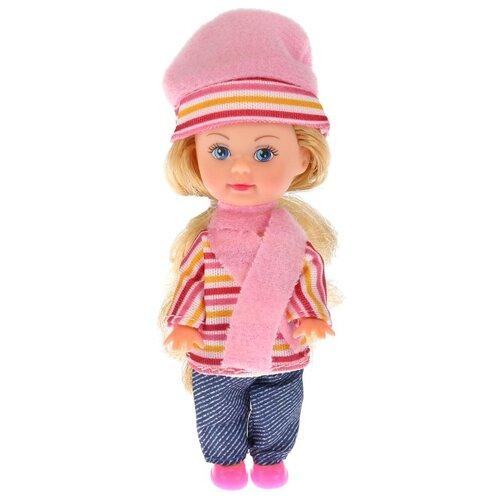 Купить Кукла Карапуз Машенька в зимней одежде, 12 см, MARY15685-19-BB, Куклы и пупсы