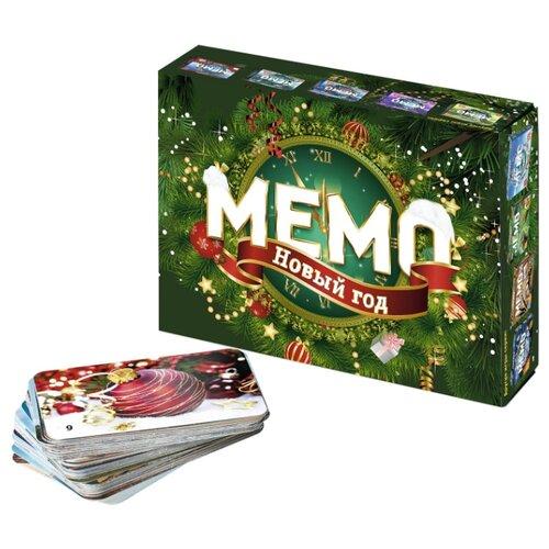 Купить Настольная игра Нескучные игры Мемо Новый год, Настольные игры