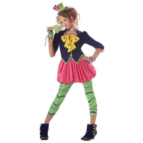 Купить Костюм California Costumes Безумный Шляпник 04016, разноцветный, размер XL (12-14 лет), Карнавальные костюмы