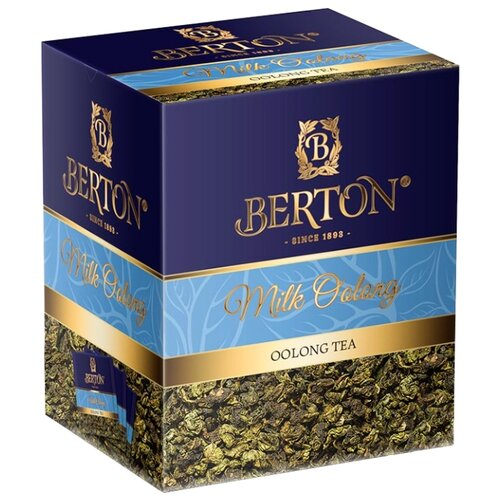 Чай улун Berton Milk Oolong, в пирамидках, 20 шт. чай улун императорский чай professional oolong в пакетиках для чайника 20 шт