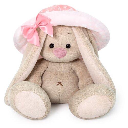 Мягкая игрушка Зайка Ми в розовой панаме 15 см