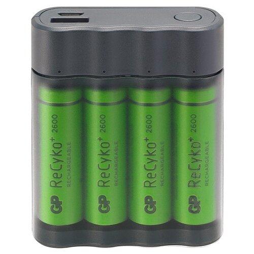 Аккумулятор GP Charge AnyWay X411 серый цена 2017