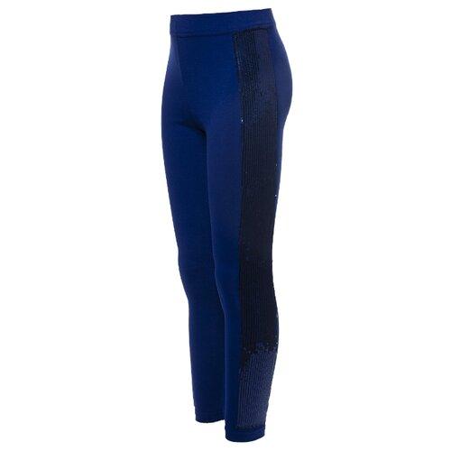 Купить Леггинсы Nota Bene 201271504 размер 158, светло-синий/синий, Брюки