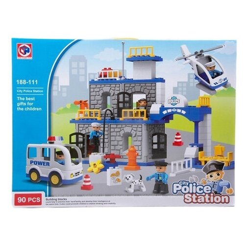 Купить Конструктор Kids home toys 188-111 Police Station, Конструкторы