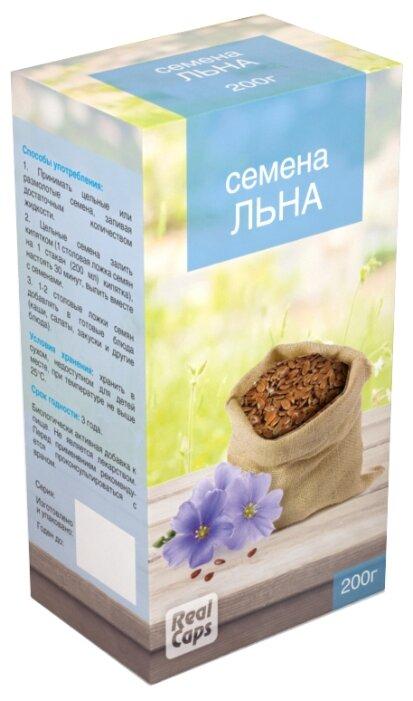 Семена льна RealCaps посевной (обыкновенный) 200 г