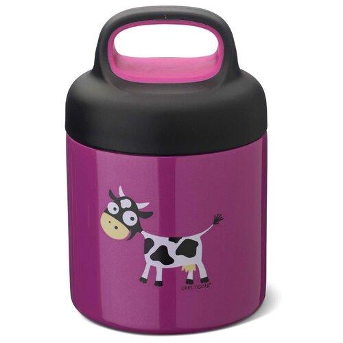 Carl Oscar Термос для еды LunchJar™ Cow 0.3л фиолетовый