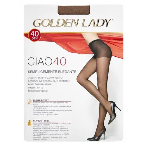 Колготки Golden Lady Ciao 40 den, размер 4-L, daino (бежевый) колготки golden lady bodyform 20 den размер 4 l daino бежевый