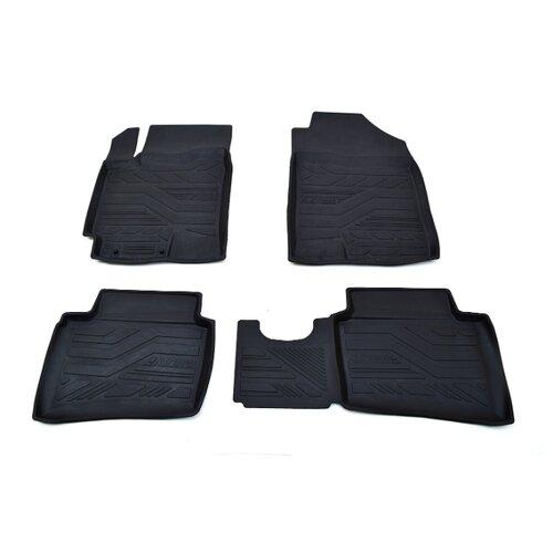 Комплект ковриков AVD Tuning ADRPLR274 Hyundai Solaris 4 шт. черный комплект ковриков avd tuning adrplr016 chevrolet captiva 4 шт черный