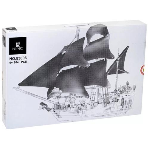 Купить Конструктор King Pirates of the Caribbeans 83006 Черная Жемчужина, Конструкторы
