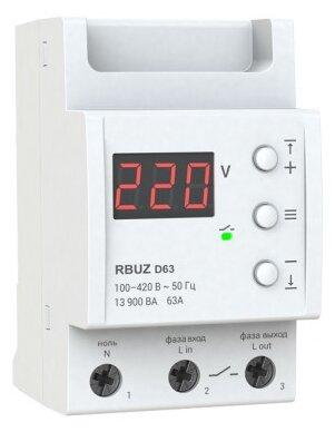 Реле контроля напряжения RBUZ D-63