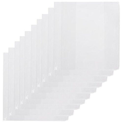 Купить №1 School Набор обложек для учебников 232x450 мм, 110 мкм, 10 штук бесцветный, Обложки