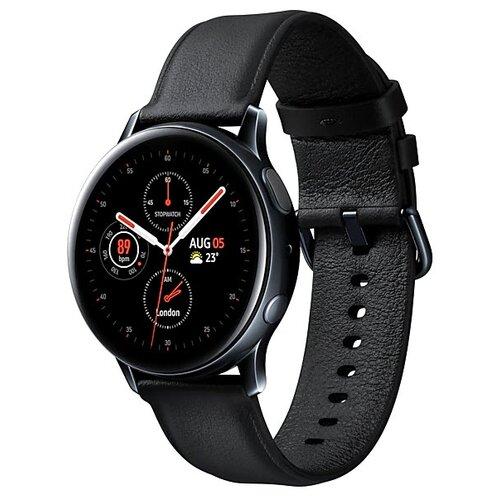 Умные часы Samsung Galaxy Watch Active2 cталь 40мм, черный умные часы samsung galaxy watch active2 алюминий 40мм ваниль