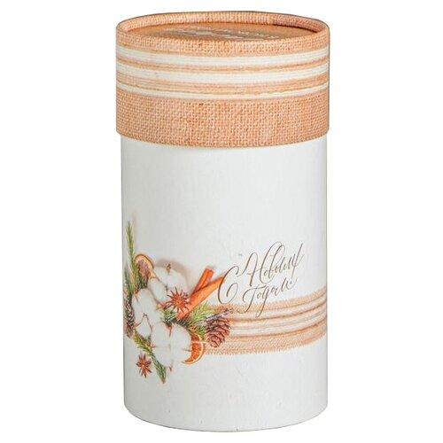Коробка подарочная Дарите счастье С Любовью и Заботой 14.5 х 8 см белый/бежевый коробка подарочная дарите счастье с любовью для тебя 23 х 7 5 х 16 см красный белый
