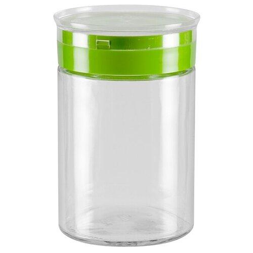 Фото - Nadoba банка для сыпучих продуктов Tekla 1.25 л прозрачный/зеленый банка для сыпучих продуктов nadoba 741111