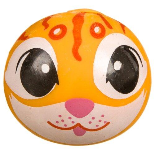 Купить Игрушка-мялка BONDIBON Глазки Котик (ВВ3585) рыжий, Игрушки-антистресс