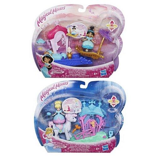 Кукла Hasbro Disney Princess Жасмин/Золушкас транспортом