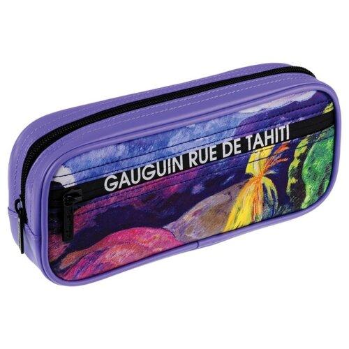 Купить Berlingo Пенал мягкий Дорога на Таити (PM08103) фиолетовый, Пеналы