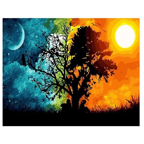 Купить ВанГогВоМне Картина по номерам Равноденствие , 40х50 см (ZX 21686), Картины по номерам и контурам
