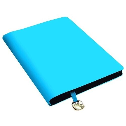 Ежедневник Listoff In Colour недатированный, искусственная кожа, А5, 136 листов, бирюзовый
