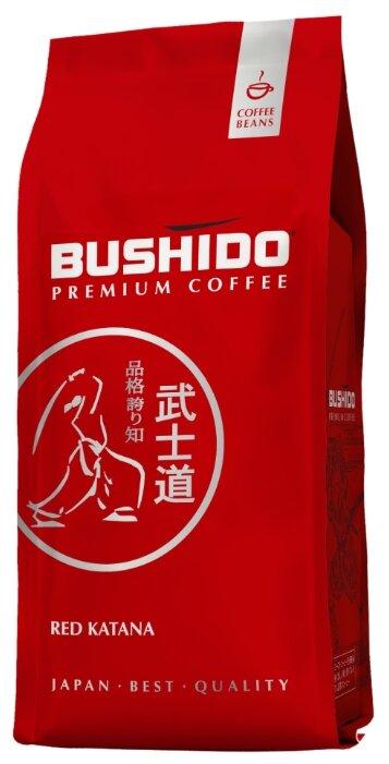 Кофе в зернах Bushido Red Katana