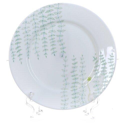 Polystar collection Набор тарелок столовых Лагуна 6 шт 25 см белый салатник 600 мл polystar
