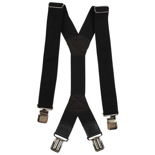 Фото - Подтяжки мужские X, ширина 40 мм, рифленые, цвет: чёрный подтяжки stilmark рифленые mono